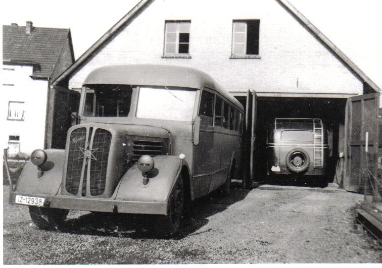 Unsere Busse in den 70er Jahren